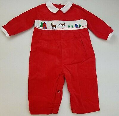 Boys FELTMAN BROTHERS boutique white button on 12m 6-12-18 NWT Christmas outfit