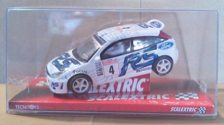 SCX PRO colección mejorado Ford Focus WRC motor PRO turbo Scalextric MSC OSC NSR