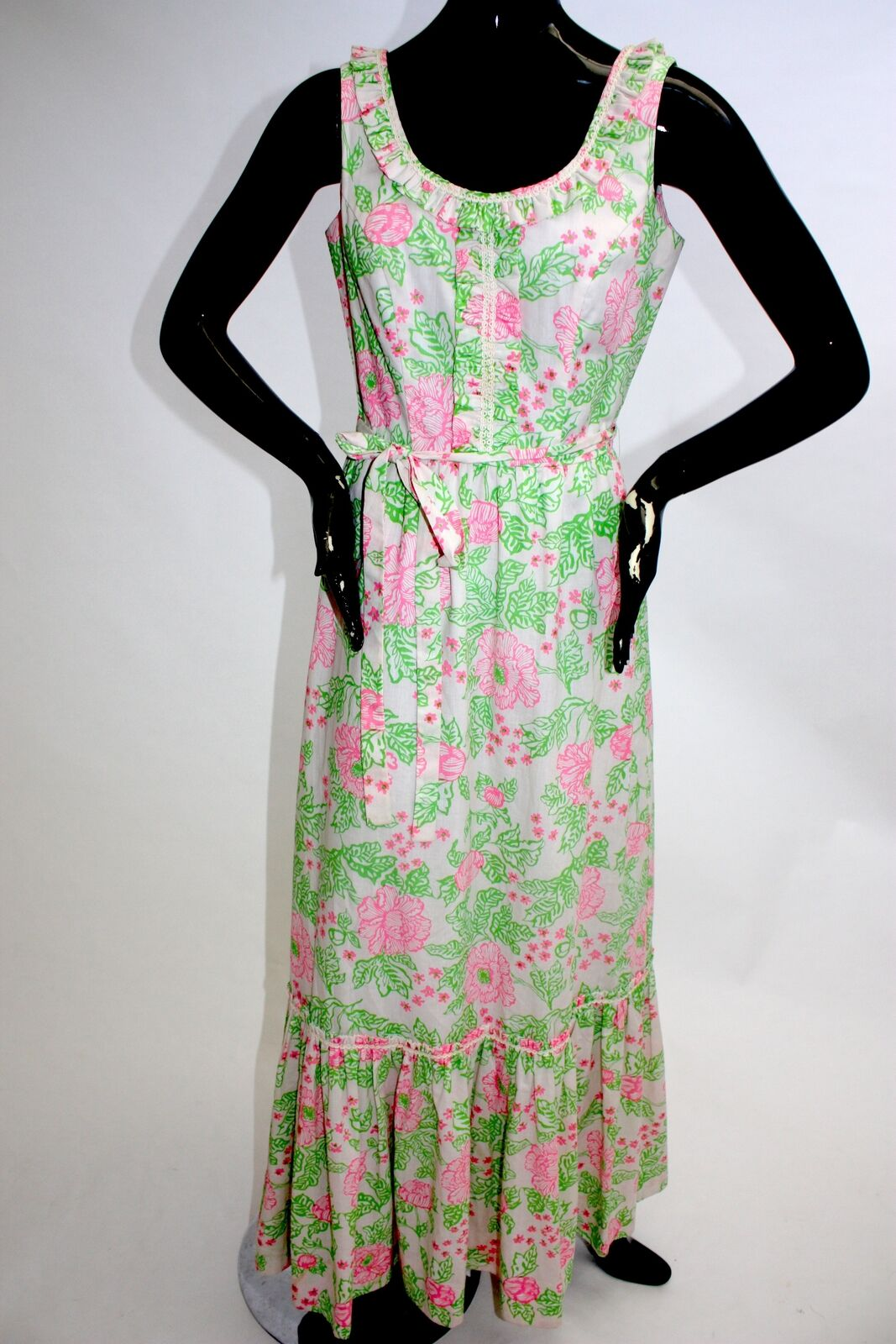 1970s Lily Pulitzer maxi dress