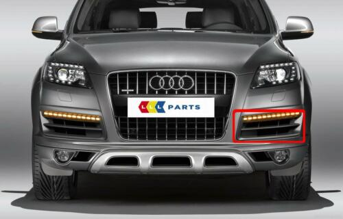 AUDI NEW GENUINE Q7 09-15 FACELIFT N//S LEFT FRONT BUMPER LOWER GRILL 4L0807681B