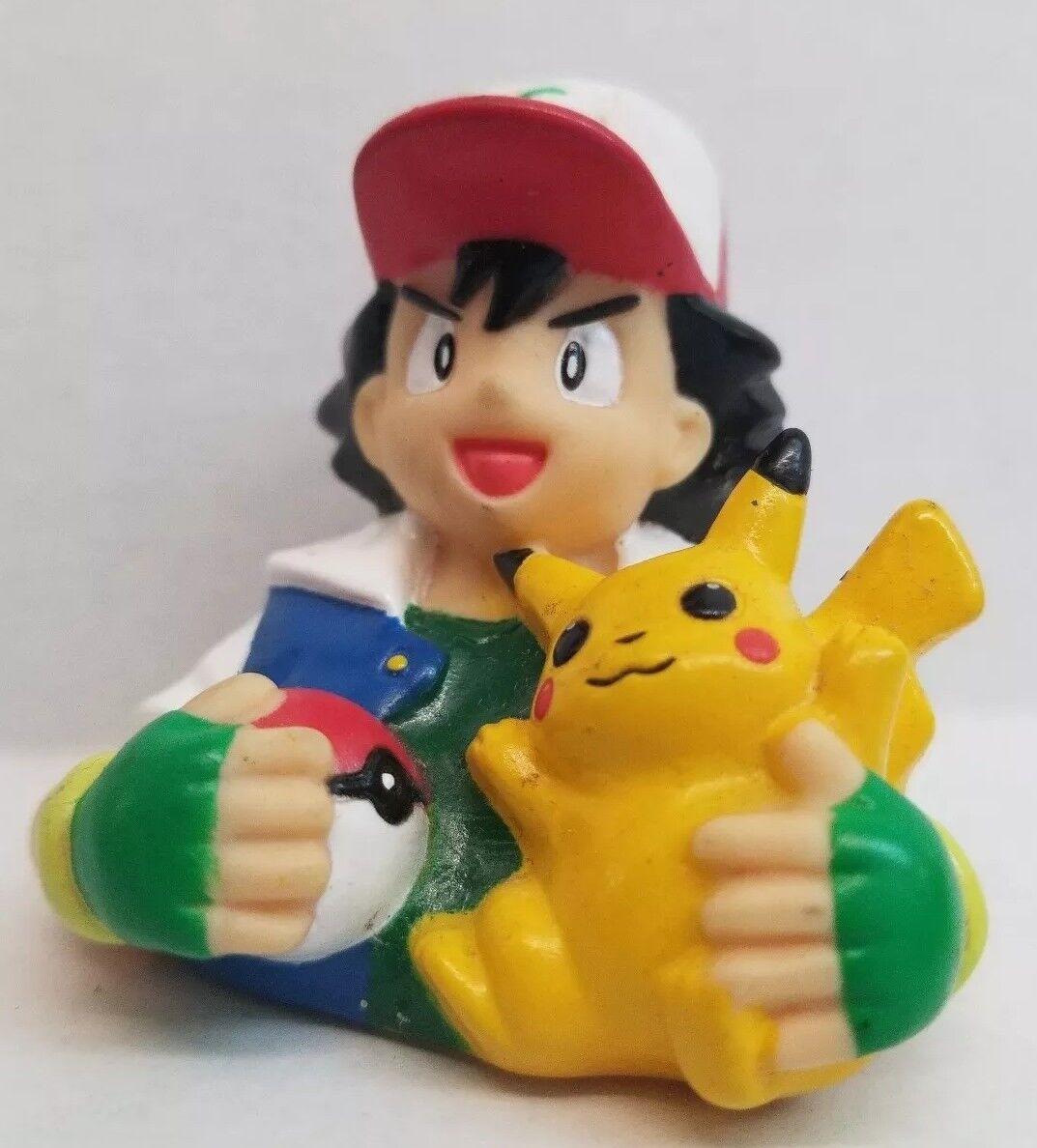 Rare Good Smile Pokemon Ash Ketchum and Pikachu Nendoroid  Figure Toy