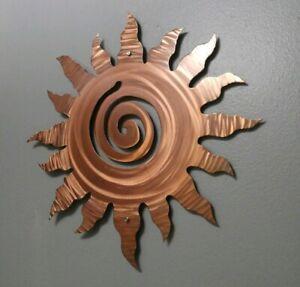 Fall Home Decor Metal Sun Wall Sculpture Home Decor Wall Art Office Decoration Ebay