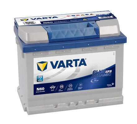 VARTA N60 560500064 60Ah 560A 242x175x190 POSITIVO DX (ex VARTA D53)