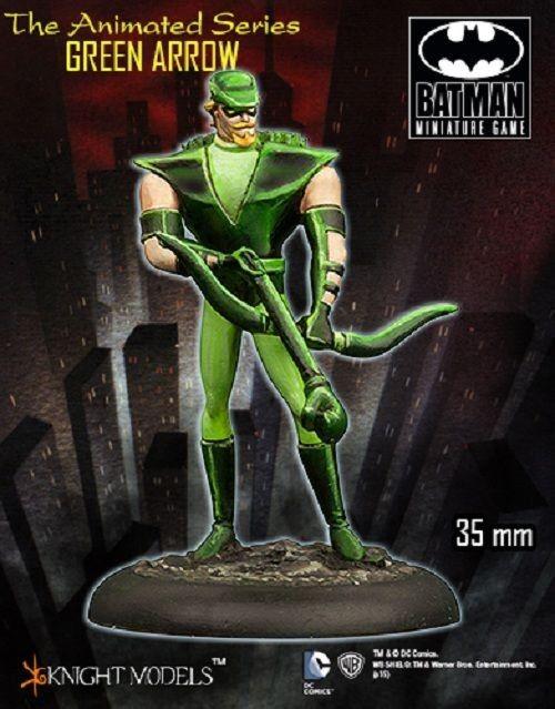 Green ARROW (Animated Series) 35mm Tabletop Miniature Dc Miniature Knight Models