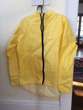 New Men's RainShield O2 Rain Jacket Size Medium Yellow
