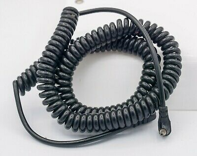 COILED 1.5 METER FLASH SYNC LEAD AND EXTENSION LEAD SPIRAL CORD