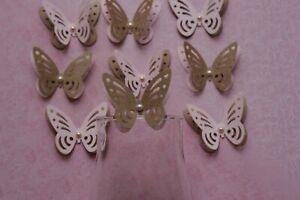 Multicolore papier Papillons Décorations De Table Fête Décoration 3D papillons