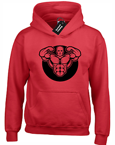 LIFTER SILHOUETTE HOODY HOODIE GYM TRAINING TOP BODYBUILDING FITNESS LIFTING NEW