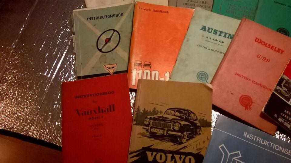 instruktionsbøger, DIV. Instruktionsbøger
