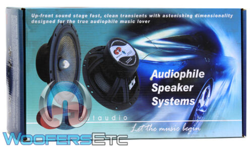 "CDT AUDIO HD-61 6.5/"" HIGH DEFINITION COMPONENT SPEAKERS SILK TWEETERS CROSSOVERS"