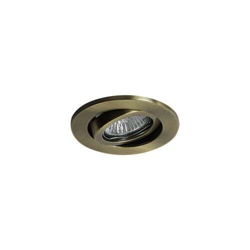 4 XLED GU10 240 V Secteur Encastrée inclinaison réglable Spotlight Downlight à DEL 6