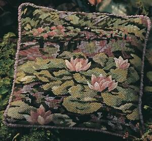 Glorafilia-Tapestry-Needlepoint-Kit-Waterlilies