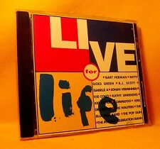 CD Live for Life 15TR 1993 Isabelle A Blue Blot Vlaamse Pop Compilation RARE !