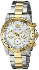Reloj Invicta Gold Oro Silver Plata Hombre Watch Bracelet Pulsera Crystal Hand
