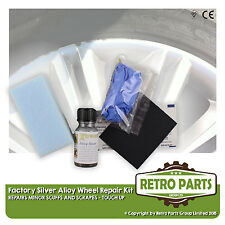 Silver Alloy Wheel Repair Kit for Ford Focus. Minor Stuff Damage Marks