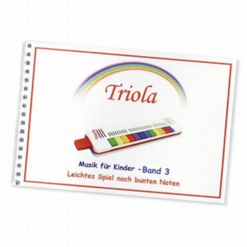 Seydel Söhne TRIOLA 12+Spielanleitung+LIEDERBUCH Band 3 Edelstahlstimmzunge C.A