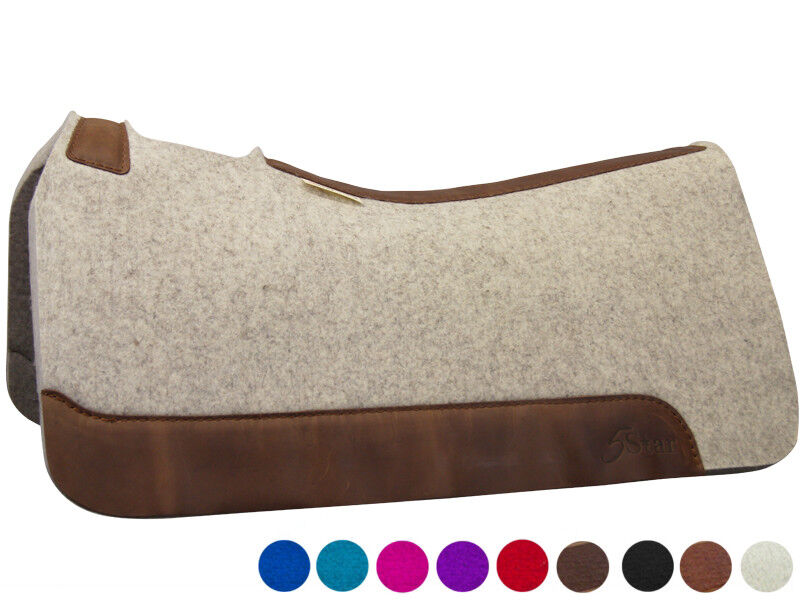 5 STAR EQUINE PRODUCTS  THE ALL AROUND  30  x 30  PREMIUM WESTERN SADDLE PAD