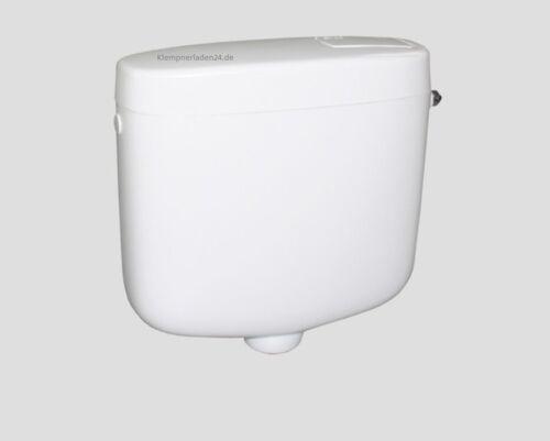 Aufputzspülkasten 6l für Euro-WC Sanit Spülkasten 936 aufputz weiß