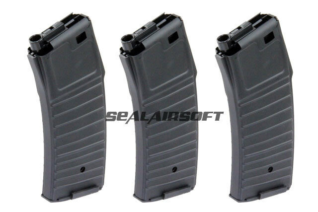 Jing GONG 300rd HiCap Airsoft Giocattolo MAGAZINE PER PDW AEG SERIE JGM1763PCS