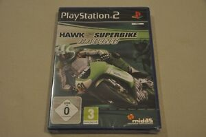 Playstation-2-Spiel-Hawk-Superbike-Racing-komplett-Deutsch-PS2-Neu-OVP