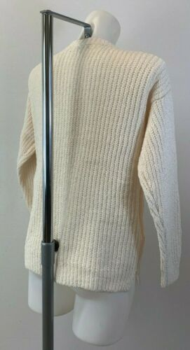 Ladies New F/&F Tesco Cream Soft And Cosy Jumper Top Size 8 10 12 14 16 18 20 22