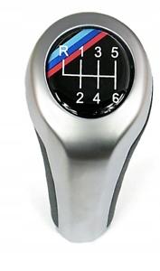M-POWER-BMW-E90-E91-E92-POMMEAU-LEVIER-DE-VITESSE-6-VITESSES-CHROM