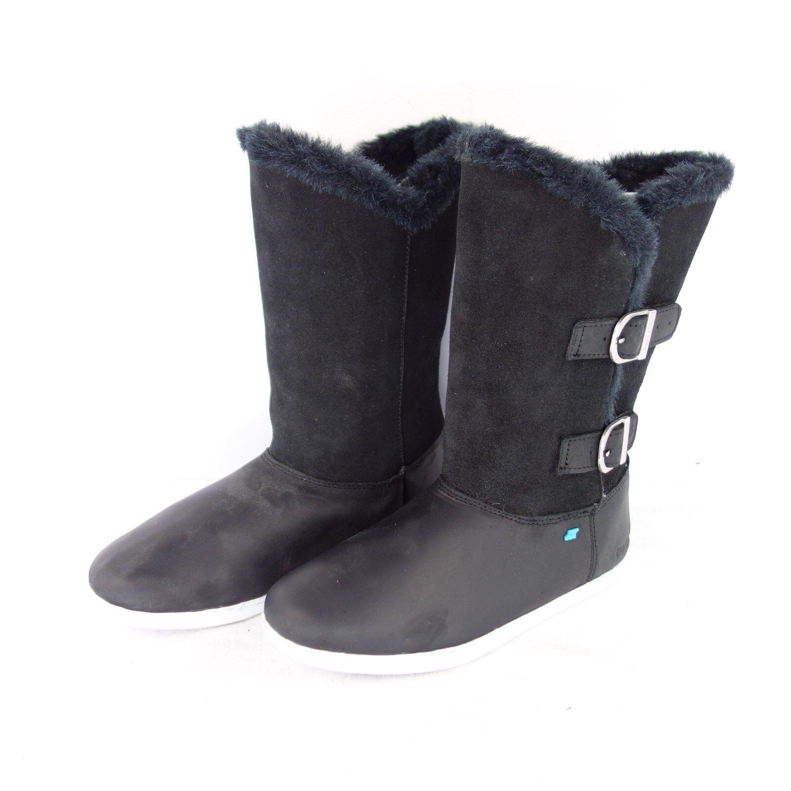 BOXFRESH Stiefel Schuhe KATE 36 37 39 Stiefel Leder Gefüttert Fell Warm NP 129 NEU