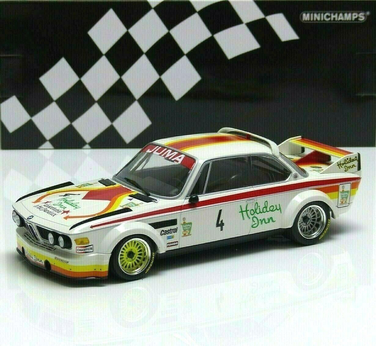 Bmw 3,0 CSL  4 corbisier, joosen, berndtson, GP nurburgring 1976 Minichamps 1 18