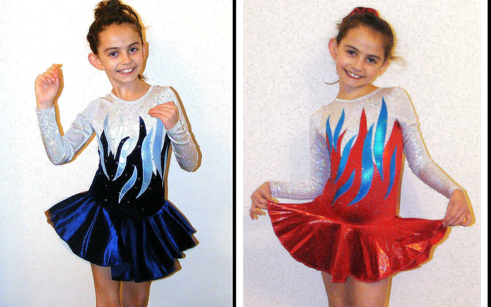 All Sizes Nevada Ice skating Dress Baton Twirling costume Tap