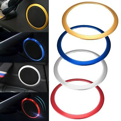 4x Car Door Audio Speaker Sound Trim Ring Cover Set For BMW 3 Series F30 F35