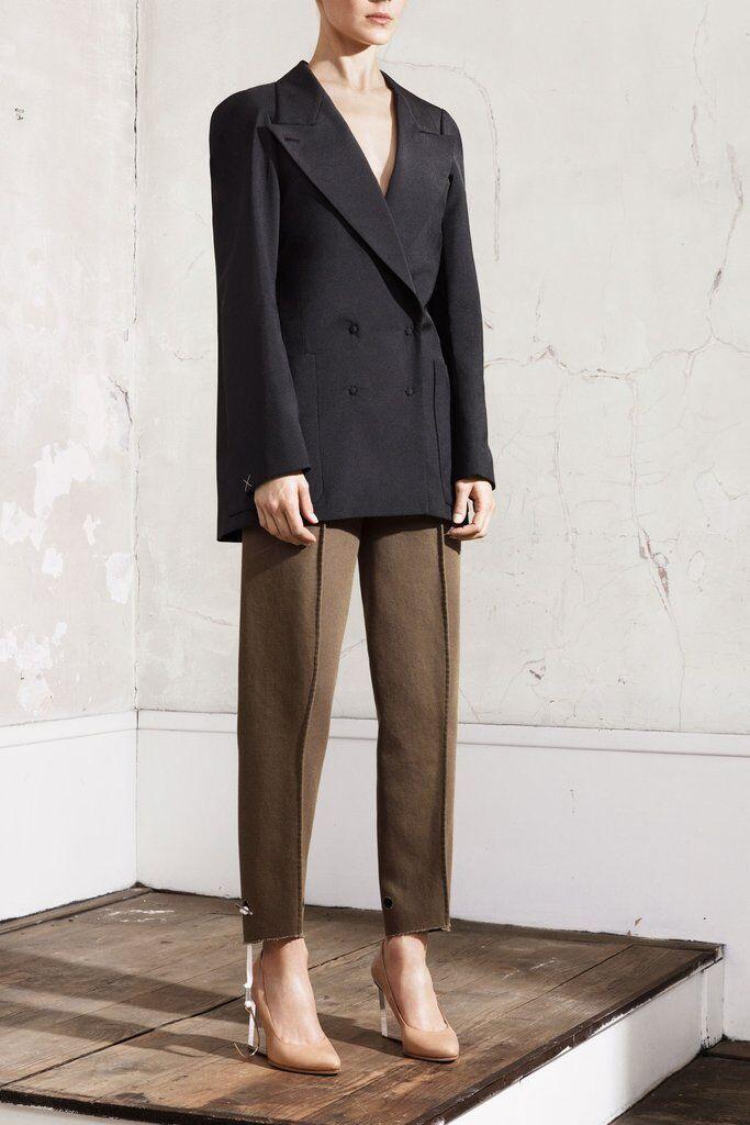 H&M Maison Martin Margiela Pattern Cut Trousers