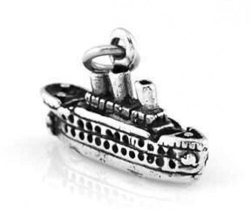 STERLING SILVER CRUISE SHIP TRAVEL CHARM