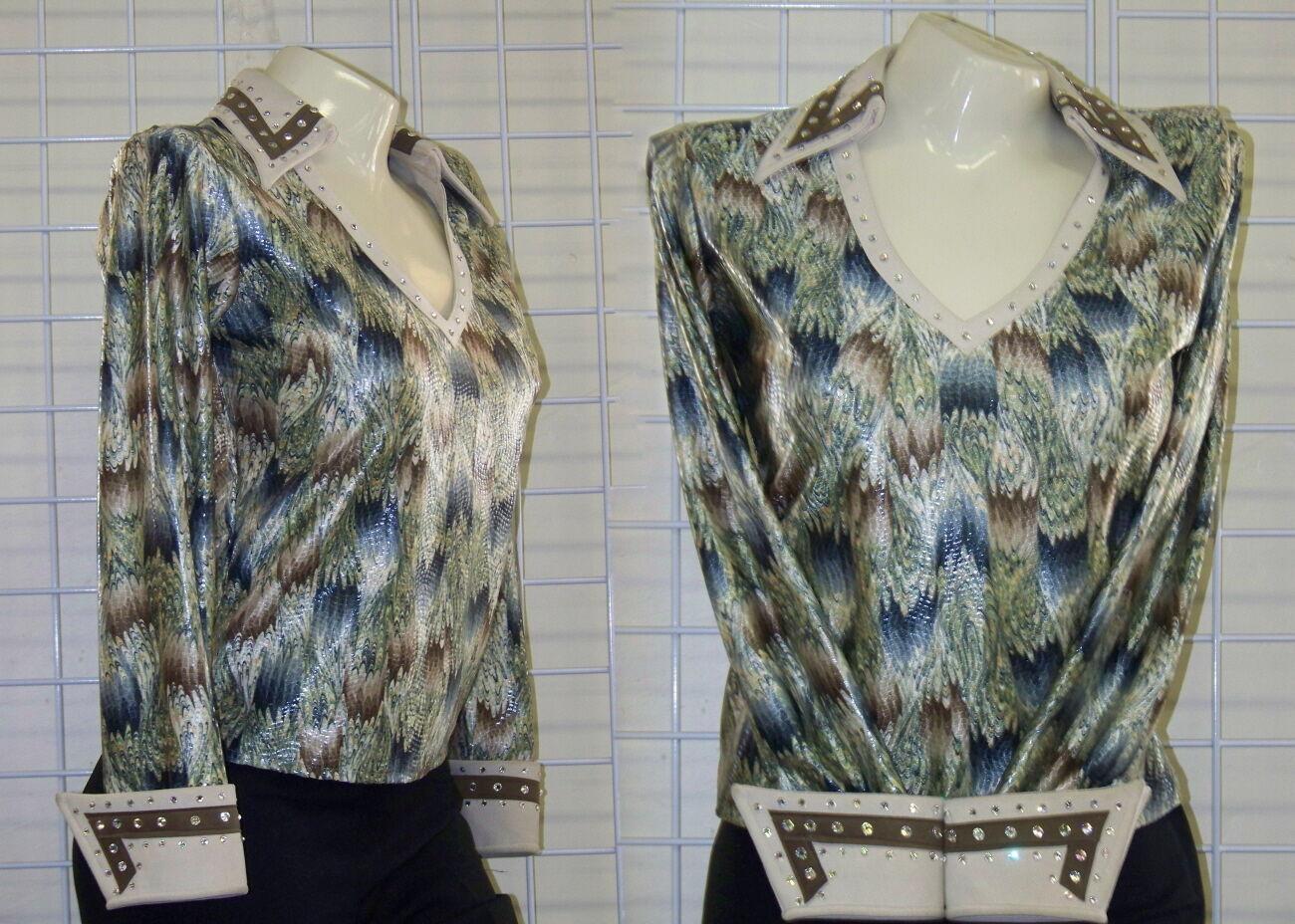 Camisas de equitación personalizadas - SAGE   TANS - talla X