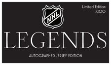 NHL- Legends Collection- 1 Authenticated Signed Jersey per box random