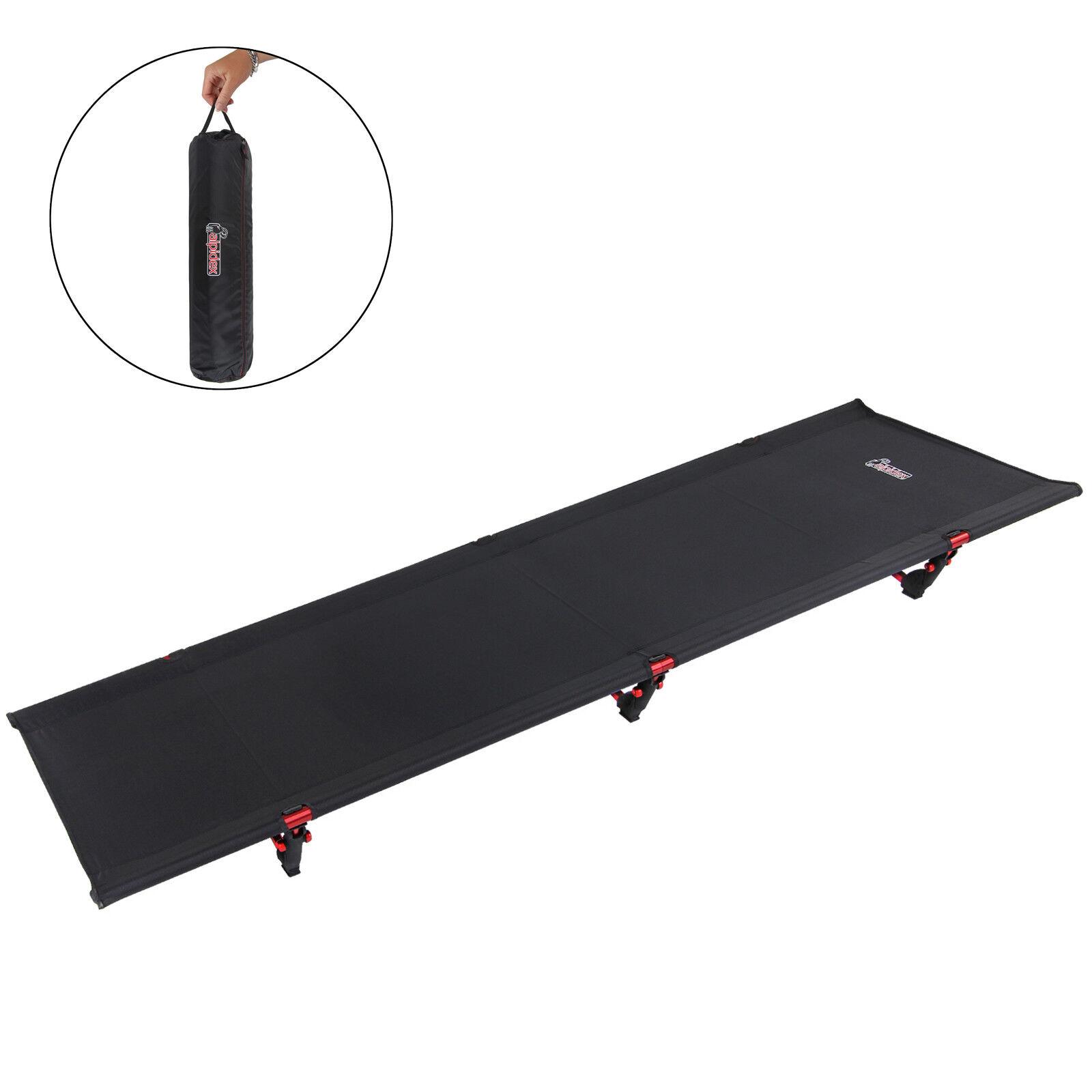 ULTRA leggero campo letto da campeggio letto per lettino da campeggio in tuttiuminio pieghevole portatile