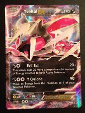 Shiny Yveltal EX XY150 XY PROMO Pokemon Card RARE HOLO Near Mint