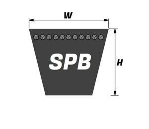 SPB1750 Quality Branded V Belt 16mmx13mm