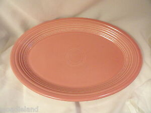 Pink-Rose-Fiesta-Oval-Platter-13-Inches-Homer-Laughlin