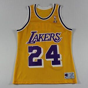 c54adb39c32 George Lynch 40 M Champion Los Angeles Lakers Jersey 93-94 Vintage ...