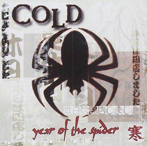 1 of 1 - Cold - YEAR OF THE SPIDER- EXPLICIT - Cold CD 44VG The Cheap Fast Free Post