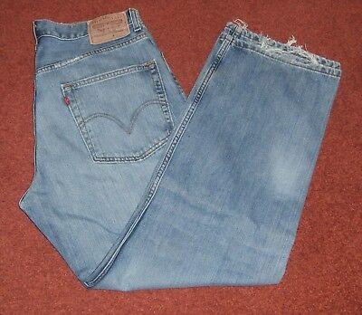 """Blue Levi 569 """"loose Straight Vintage Denim Jeans. Taglia W 32"""" L 30""""-mostra Il Titolo Originale Nuove Varietà Sono Introdotte Una Dopo L'Altra"""