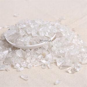 Wholesale-200g-Bulk-Tumbled-Stones-Reiki-Clear-Quartz-Crystal-Healing-Mineral
