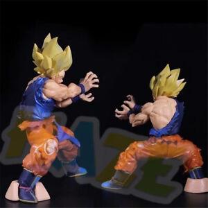 Anime-Dragon-Ball-Z-SUPER-SAIYAN-Son-Goku-8-034-PVC-Action-Figure-Statue-Model-Toy
