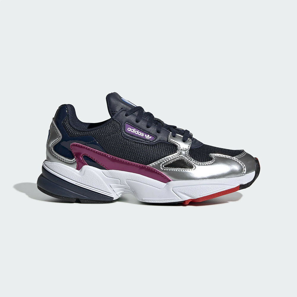 New Adidas Original damen FALCON NAVY   Silber CG6213 US W 5 - 8 TAKSE AU