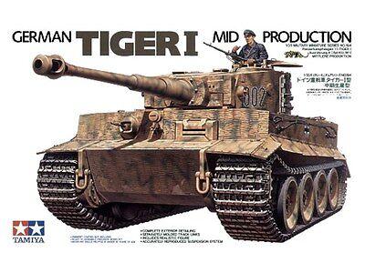Tamiya - German Tiger 1 (Mid Production) 35194 Model Kit
