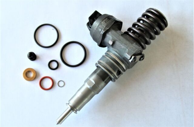 1x VW Audi Inyector Inyección por Bomba 038130073bq 0414720312