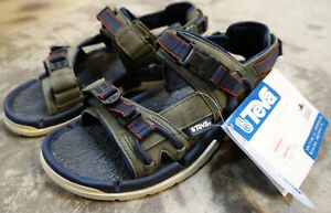 Details about TEVA SPINNAKER MEN'S 8 GRAY NAVY BLUE SAILING BOATING SANDALS, 6611, SAIL BOAT!