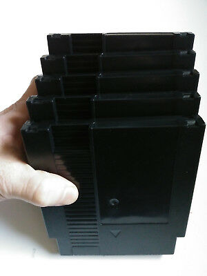 5pcs Black Nintendo NES Game Cartridge Shell Case. SHIPS FROM USA!!!
