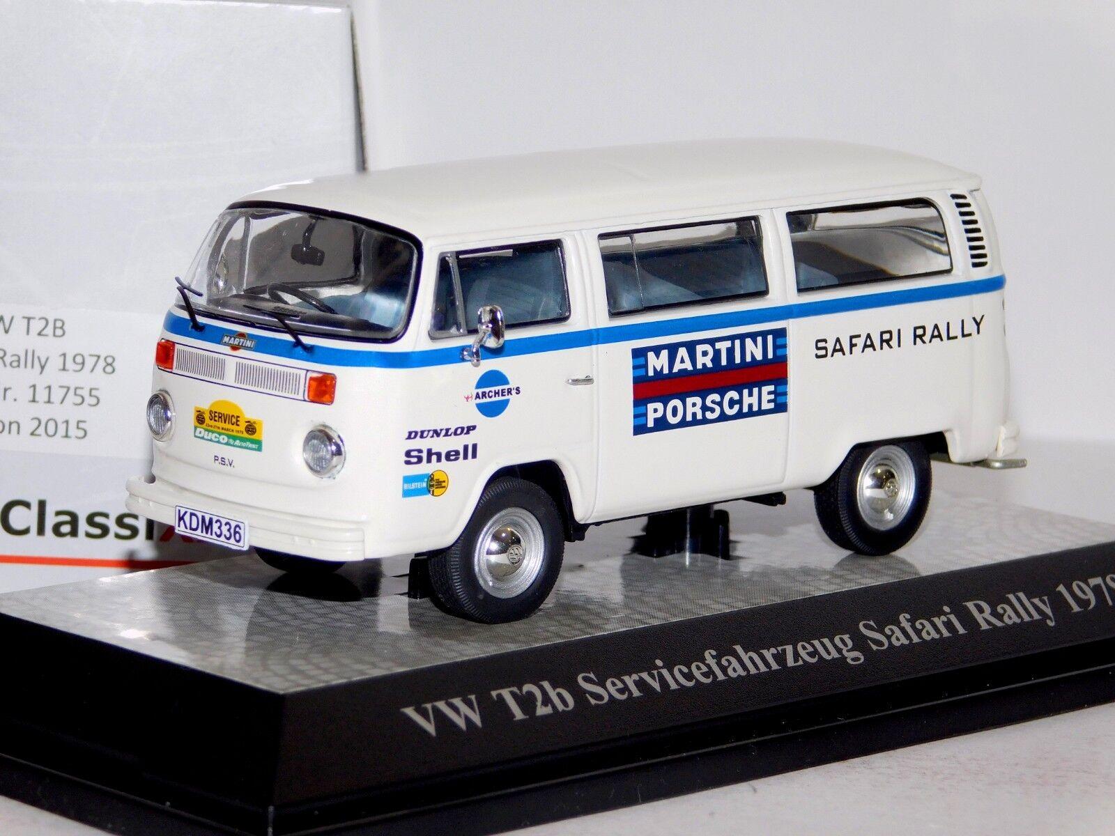 VOLKSWAGEN T2B Porsche asistencia Safari Premium Classixxs Lim. 11755 1 43