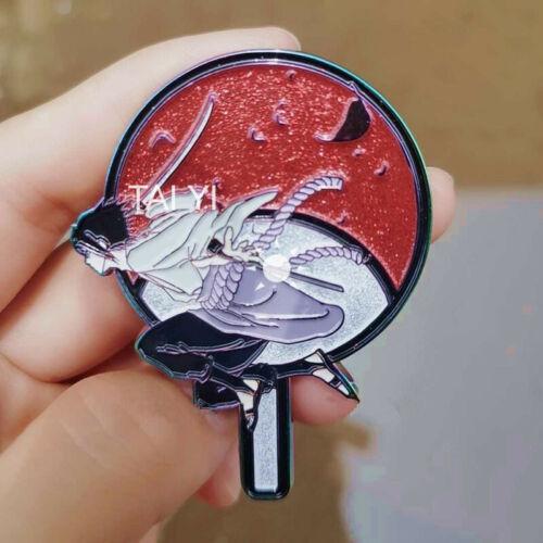 Naruto Uzumaki Naruto Uchiha Sasuke Metal Badge Brooch Pin Collect N